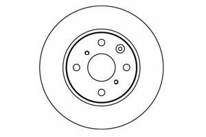 Jeu de 2 disques de frein par TEXTAR