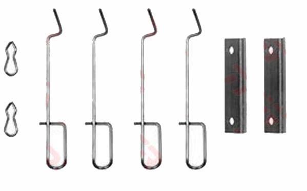 Kit d'accessoires pour plaquette de frein à disque par TRW