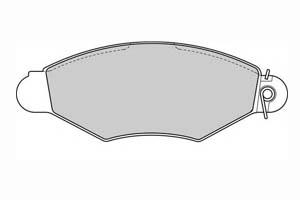 FERODO Kit de plaquettes de frein, frein à disque PREMIER Essieu avant